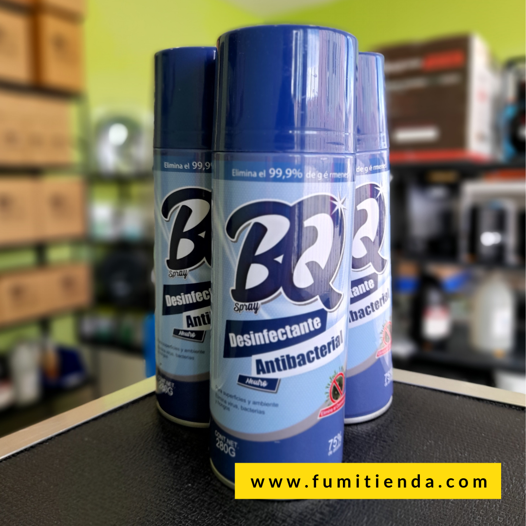 Desinfectante Antibacterial BQ Spray Neutro